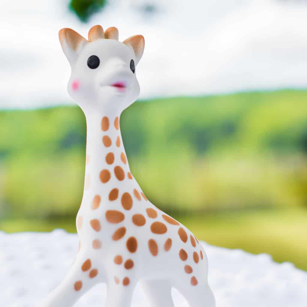 Sophie the Giraffe Gift Box Bitleksak