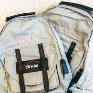 Back Pack Mini Mineral Green Elodie Details